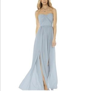 Dessy Collection Social Bridesmaids 8159 Mist